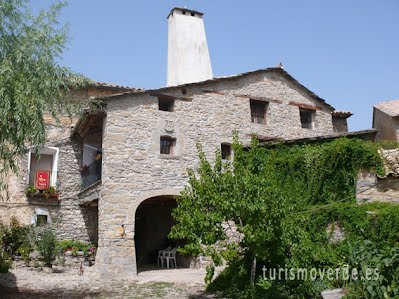 TURISMO VERDE HUESCA. Casa Pardina de Almazorre